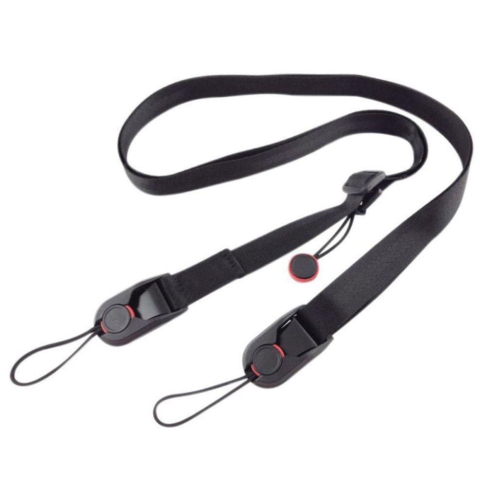 Adjustable Camera Strap Black DSLR/SLR Camera Shoulder Strap Sling Belt For GoPro Xiaoyi Nikon DSLR Strap для фотоаппарата
