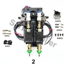 Atualização bt2030 smt diy steppor motor rotativo conjunto mountor conector nema8 eixo oco passo para picareta lugar cabeça dupla