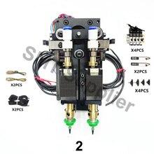 تحديث BT2030 SMT لتقوم بها بنفسك Steppor موتور الروتاري المشترك موصلة موصل Nema8 الجوف رمح السائر لاختيار مكان مزدوج الرأس
