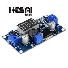 LM2596 LM2596S כוח מודול + LED מד מתח DC DC מתכוונן צעד למטה אספקת חשמל מודול עם תצוגה דיגיטלית