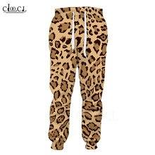 Pants Sportswear Leopard-Trousers Fashion Casual Hip-Hop Gym 3d-Printed Hombre Boys Men