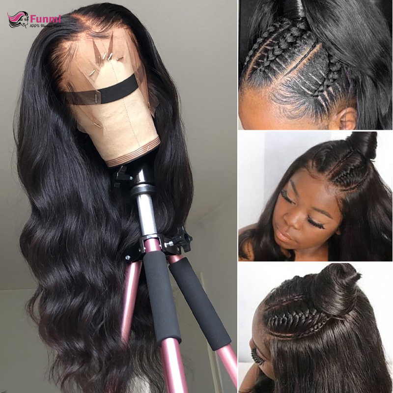 Body Wave 360 Lace Frontal Wig Lace Front Human Hair Wigs With Baby Hair Remy Hair Lace Wigs Brazilian Body Wave Human Hair Wigs