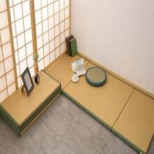 1 шт. складной японский татами матрас коврик прямоугольник Пол соломенный Коврик для йоги спящий татами коврик 200*90 см толщина 3 см