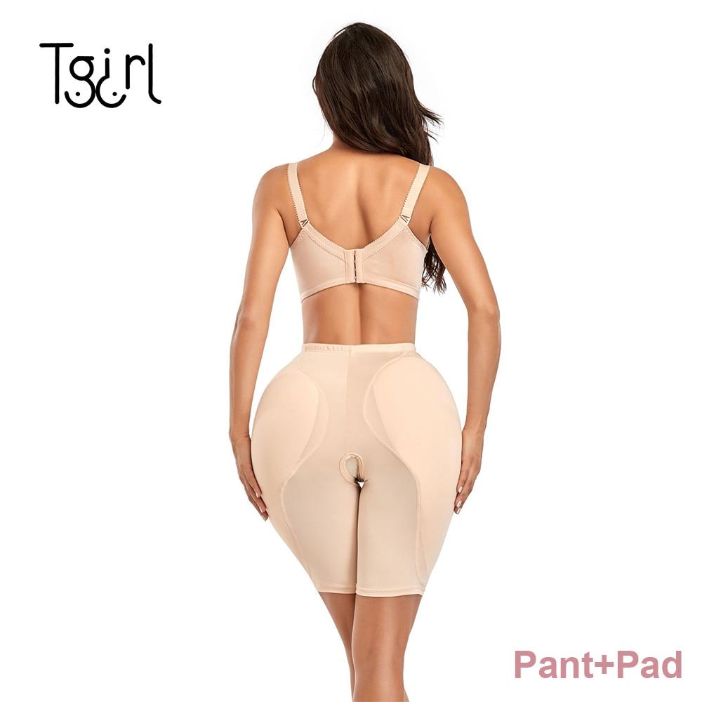 Hip Pads With Pants for Crossdressing Suit Crossdressrer Thigh Up  Reusable Butt Enhancers Buttocks Booster