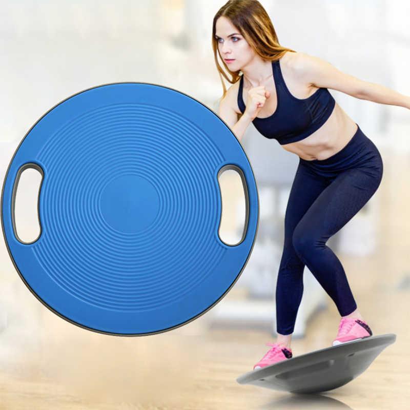 Core Workout Balance Fitness Yoga Board YMFZYM Twisting Fitness Balance Board para m/úsculos Abdominales y piernas,Azul