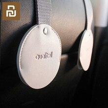 Xiaomi ganchos para colgar en el asiento trasero del coche, productos para el Interior del coche, organizador de bolsas con gancho, accesorio para el coche