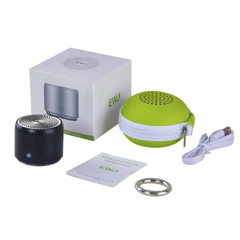 Ewa Super-Mini Waterdichte Bluetooth Speaker 2018 Japan Beste Geluid/Bass Kwaliteit Ewa A106 Pro Draagbare Speaker Bluetooth 5.0