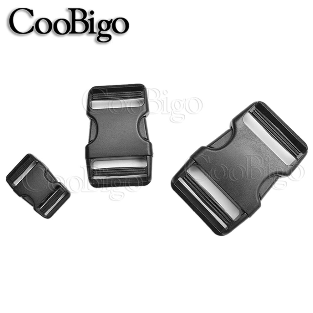 10 X Plastic Buckle for Webbing Strap Bag Fastener Side Release Clasp Clip 25mm