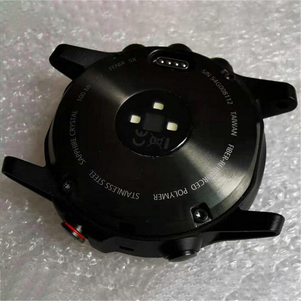 Traseira da Bateria Original para Garmin Case de Volta com Botões Tampa Fenix Esportes Relógio Inteligente 5x