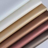 Lychee Life 50 см x 137 см искусственная кожа ткацкий узор PU Ткань DIY Ручная работа швейные принадлежности для одежды украшения