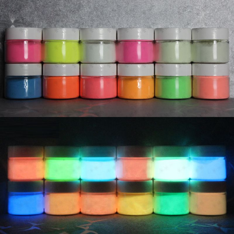 5 Gram Luminous Glow In The Dark Powder Pigment Colorant Resin Jewelry  Making