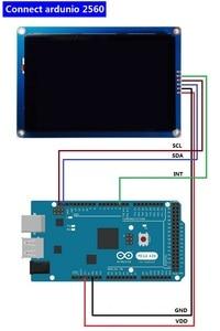 Image 5 - ใหม่ 3.5 นิ้ว HMI I2C IIC โมดูลจอแสดงผล LCD หน้าจอสัมผัสแบบ Capacitive 480x320 สำหรับ Arduino
