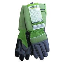 1 пара инструментов, защитные перчатки, аксессуары для посадки, садоводства, обрезки труда, анти-ножевые Утолщенные, с длинным рукавом, рабочая обрезка, с принтом