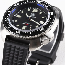 STEELDIVE 1970 NH35 Automatic Watch Men Sapphire Crystal 200M Diver Watch Automatic 316L Steel Dive Watch Mechanical Dive Watch