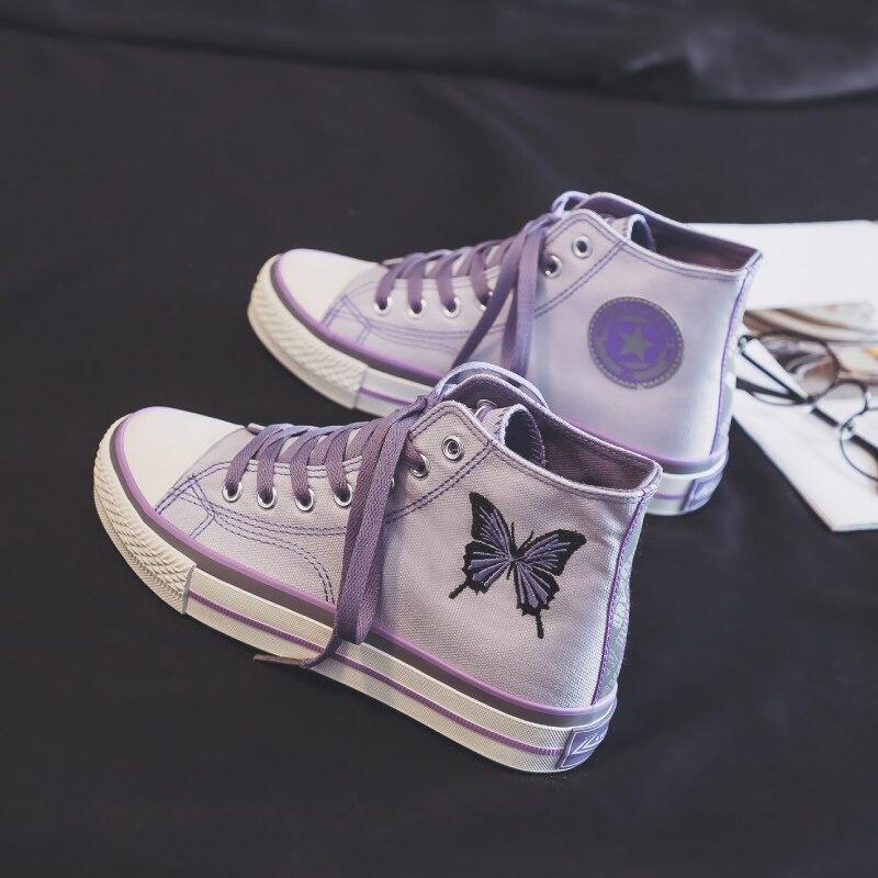 Purple High top