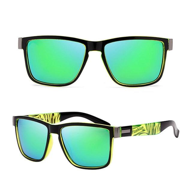 Fashion Wrap Square Frame Retro Polarized Sunglasses  5