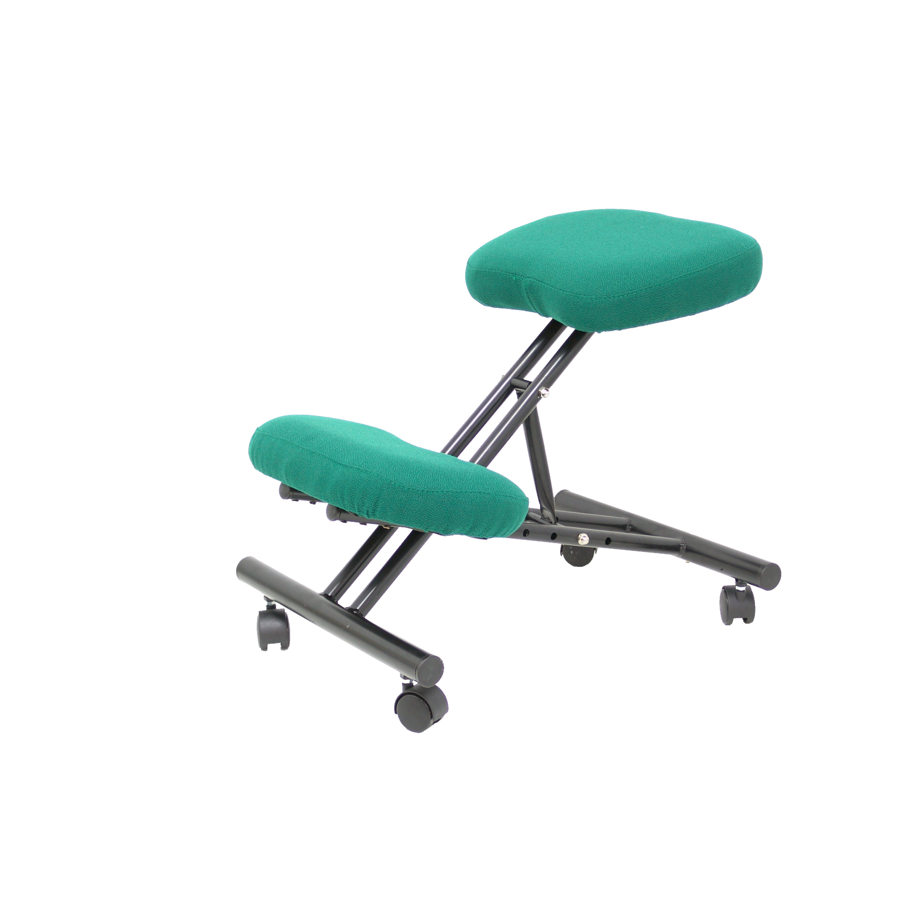 Office's Stool Ergonomic Fixed, Dimmable In Various Positions And With Wheels Up Seat Upholstered In BALI Tissue Color