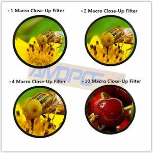 Image 4 - 40.5mm~49mm/62mm/67mm,86mmMacro Close Up +1 +2 +4 +10 Macro Close Up Filter Kit for Canon Nikon Sony Pentax Fujifilm Camera Lens