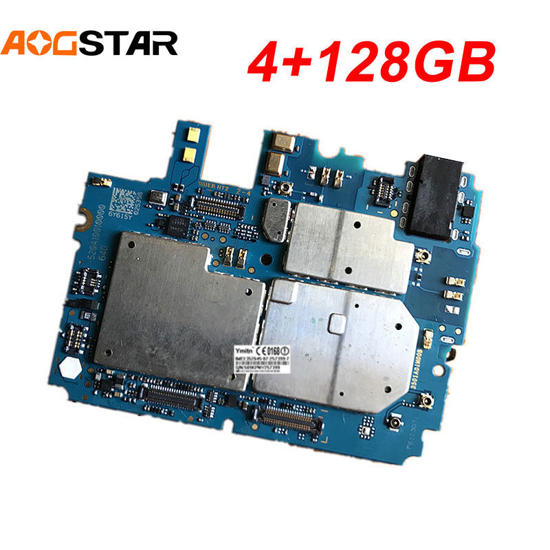Aogstar Mobile Electronic Panel Mainboard Motherboard Unlocked With Chips Circuits Flex Cable For <font><b>Xiaomi</b></font> 5 Mi 5 M5 <font><b>Mi5</b></font> 4GB+<font><b>128GB</b></font> image