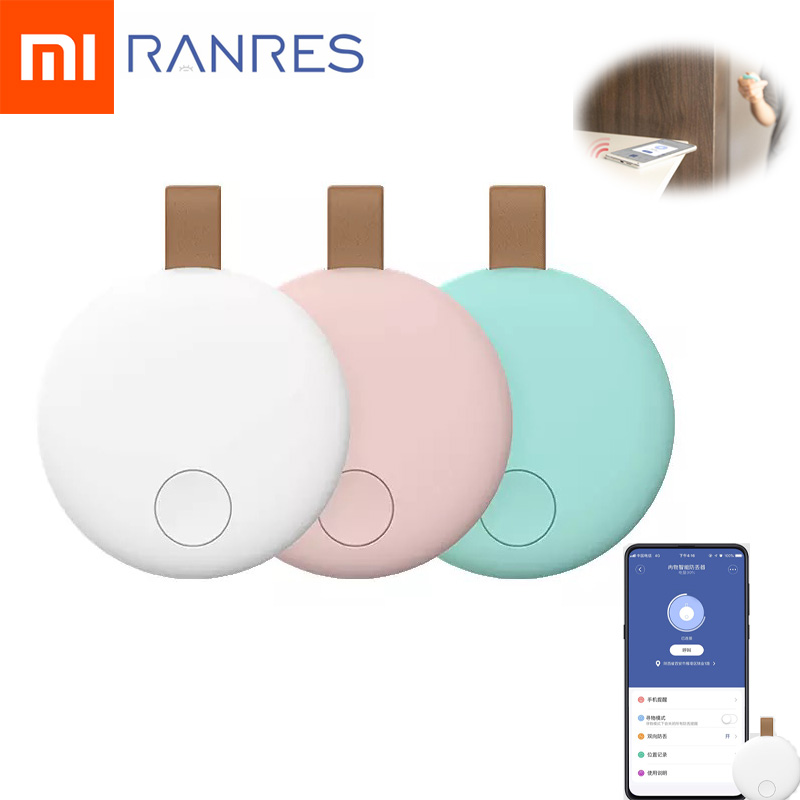 Xiaomi Ranres Anti Lost Device Device Intelligent Positioning Alarm Search Tracker Pet Bag Wallet Key Finder Phone Box Search