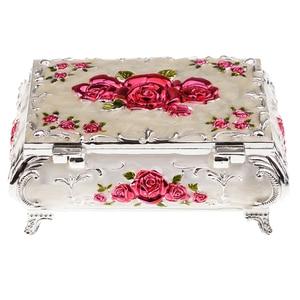 Image 5 - Rus tarzı elmas mücevher kutusu mücevher saklama kutusu düğün hediyesi