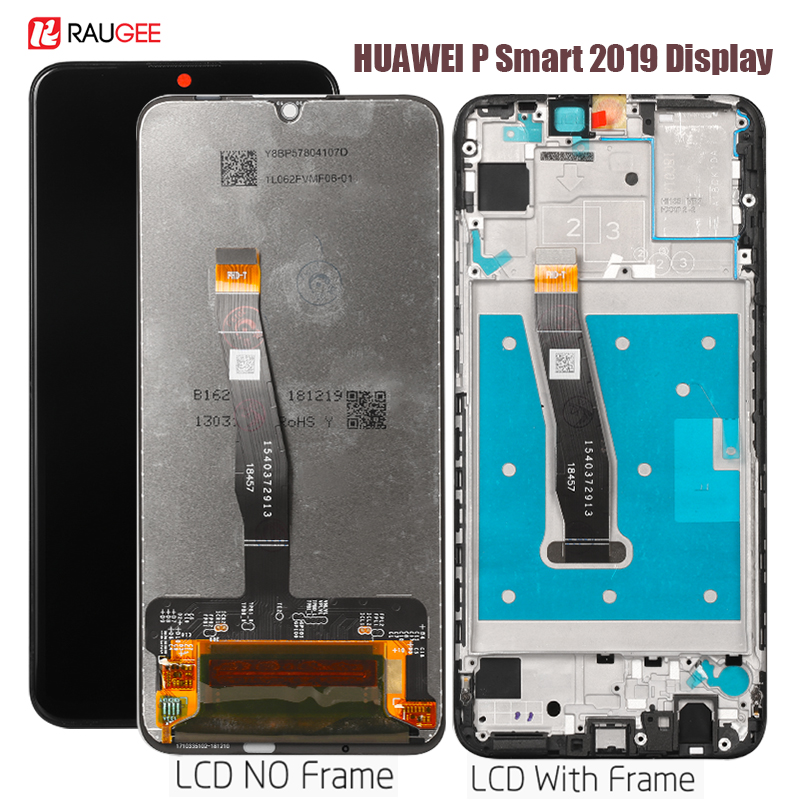 Display For Huawei P Smart 2019 Lcd Display Touch Screen Replacement For Huawei P Smart 2019 POT-LX1 L21 LX3 Tested Phone LCDs