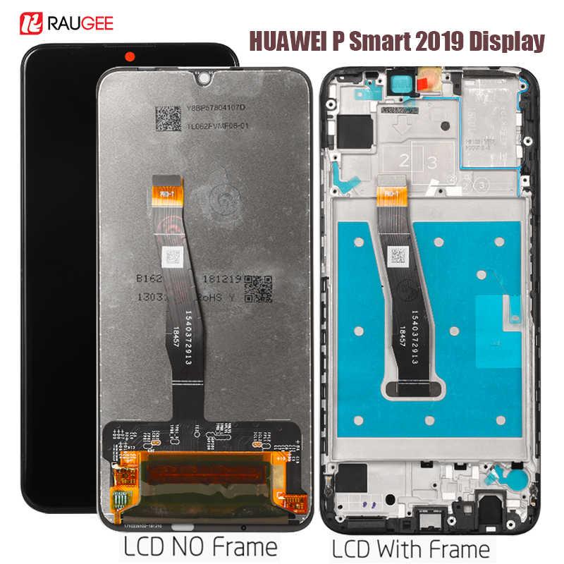 Display Per Huawei P di Smart 2019 Lcd Display Touch Screen di Ricambio Per Huawei P di Smart 2019 POT-LX1 L21 LX3 Testato cristalli Liquidi del telefono