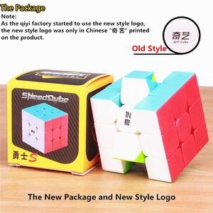 Image 5 - Qiyi warrior s cubo de magia colorido, velocidad sin pegatinas, cubo 3x3, antiestrés, 3x3x3, rompecabezas educativo, Juguetes