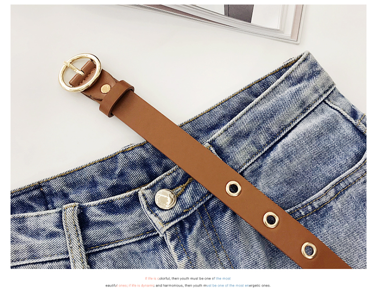 Ha0ce6eba545b49719924c0b75a70aa295 - NO.ONEPAUL Genuine leather women belt high quality fashion casual alloy round buckle with ladies trend jeans the women for belt