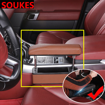 Multifunction Car Center Console Armrest pad For Ford Focus 2 3 VW Passat B6 B5 B7 B8 Touran Toyota Avensis Mazda 3 Storage box