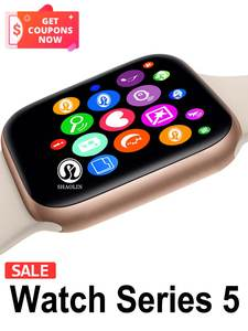 Watch-Series Monitor Red-Button Heart-Rate Apple Smart-Phone Android Pedometor for 5/6