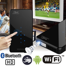 New X2 Phone Size HD Projector AC3 Android WiFi DLP Smart Proyector Beamer Bluet