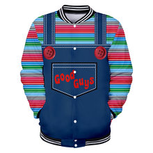 The evil Good Guys toy 3d Jacket men/women halloween Chucky print 3d hoodies sweatshirt casual plus size tracksuit tops clothes(China)