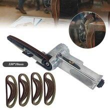 Sander Polishing Machine Sanding Belt 330 X 10mm Wide Air Finger Belt Power File Detail Sanding + 25Belts