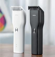 Męska elektryczna maszynka do włosów maszynki do strzyżenia maszynki do strzyżenia dla dorosłych maszynki do golenia profesjonalne maszynki do strzyżenia maszynka do strzyżenia włosów Hairdresse ENCHEN tanie tanio XIAOMI CN (pochodzenie) adult trymer do włosów Ceramic cutter head MI-3945 ABS+stainless steel white black 142g 164x43mm