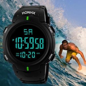 Men Sports Watches Military LED Countdown Men's Waterproof LED Digital Watch Man Military Sports Clock Relogio Masculino