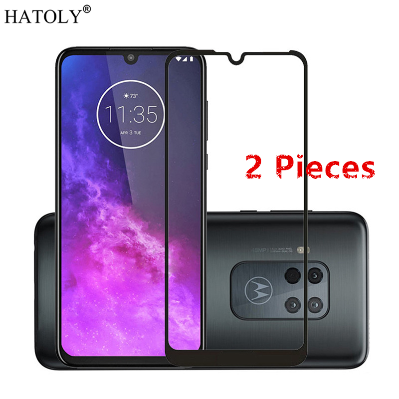 2Pcs For Motorola One Zoom Glass Tempered Glass For Motorola Moto One Zoom Screen Protector Protective Glass For Moto One Zoom