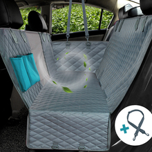Car-Seat-Cover Car-Hammock-Cushion Dog-Carrier Travel-Mat Waterproof Protector with Zipper