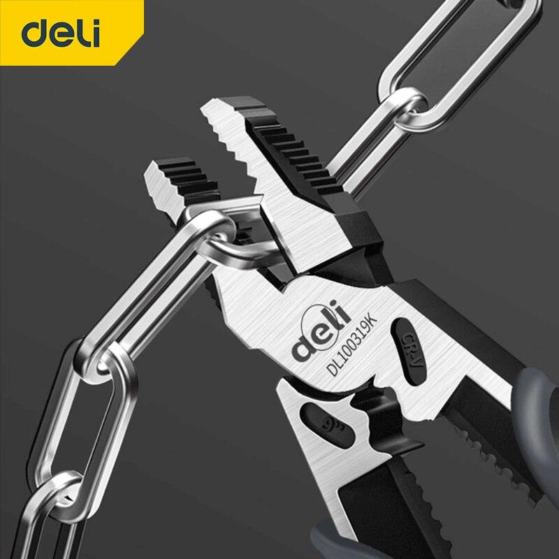 Универсальный резак для проводов DeLi, диагональные плоскогубцы, Обжимные Щипцы, кусачки для игл, многофункциональное оборудование, ручные и...