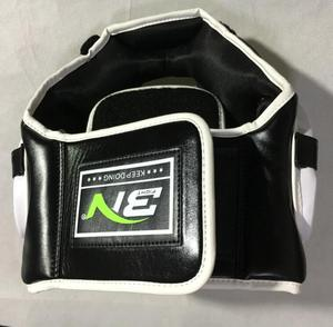 Image 3 - Kids/Adults MMA Sparring Muay Thai Boxing Helmet W/Mask Taekwondo Martial Arts Headgear Training Protective Head Protector DEO