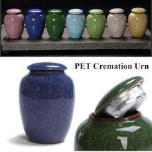 200 мл глазури урны кремации на память о похоронах собака Кот