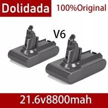 New 8800mAh 21.6V 6.8Ah Li-ion Battery for Dyson V6 DC58 DC59 DC61 DC62 DC74 SV09 SV07 SV03 965874-02 Vacuum Cleaner Battery