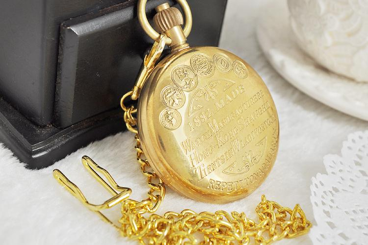 Vintage-Watch-Manufacturers-Style-Copper-Case-Pocket-Watch-with-Chain-Mechanical-Hand-Winding-Top-Quality-Best (4)