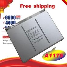 """Бесплатная доставка, Сменный аккумулятор для ноутбука A1175 MA348 для Apple MacBook Pro 15 """"A1150 A1260 MA463 MA464 MA600 MA601 MA610 MA609"""