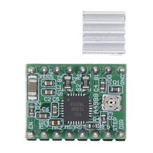 A4988 module CNC 3D Printer Parts Accessory Reprap pololu Stepper Motor Driver Module with Heatsink for ramps 1.4(China)