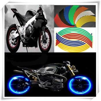 Universal reflectante motocicleta llanta de neumático de rueda de pegatinas para KTM Duque SMR SMT 990 SupeR RC125 125, 1290