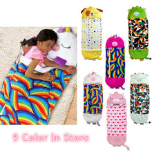 Sleeping-Bag Happy-Nap Children's-Pillow Gift for 9-Style Lazy Kid