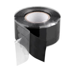 1.5/3 3M Auto Fita Adesiva De Silicone Preto Auto-derretedura Cinturão À Prova D' Água Fita Super Forte Tubo de Reparo Reparo de Vedação Fita de Vedação