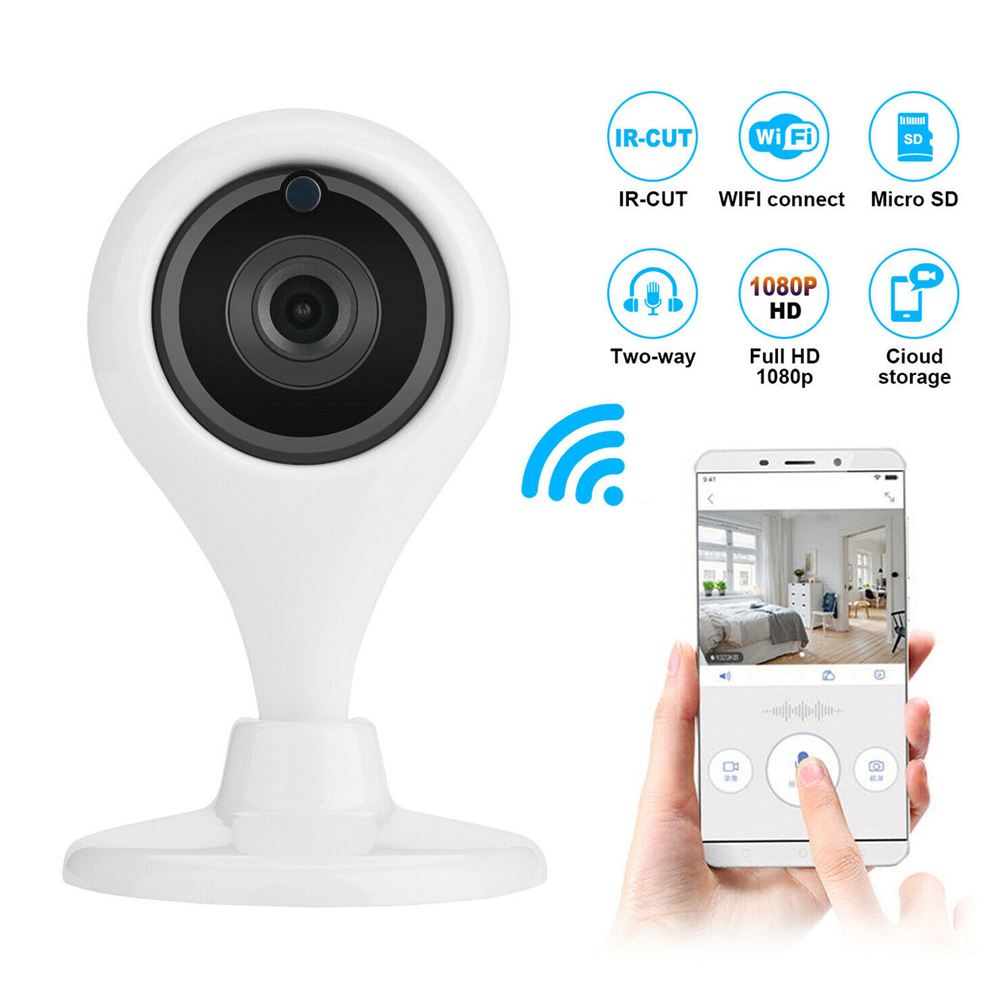 HD Wifi IP Camera IP P2P Surveillace Camera Smart Infrared Surveillance Camera Home Security Network CCTV Camera Baby Monitor