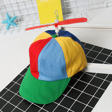 Nieuwe Propeller Hoed Helikopter Baseball Cap Fancy Dress Clown Kostuum Accessoire Vizier Cap Casquette Gorras Viceras Para Mujer(China)